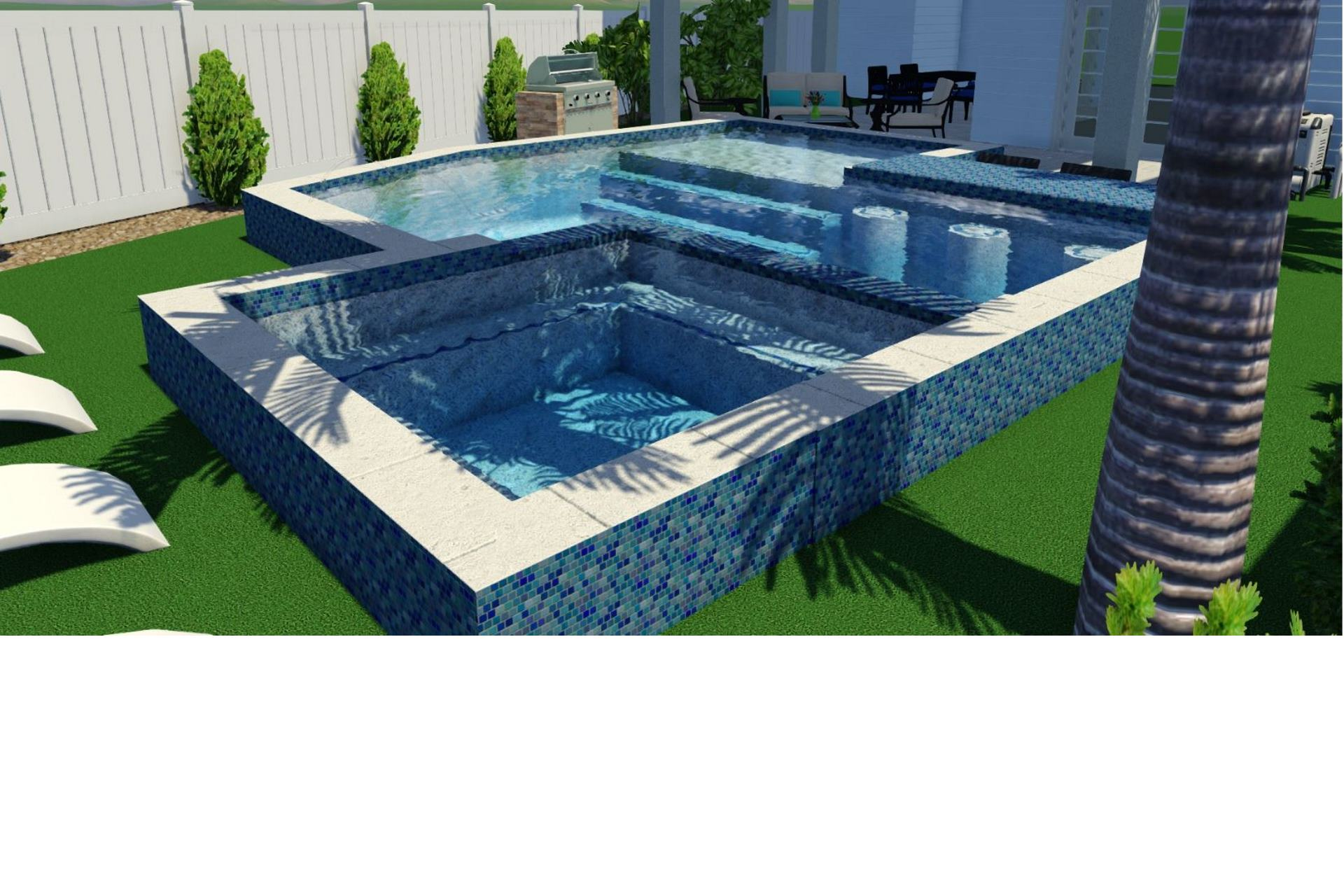Actual Pool and Spa Design