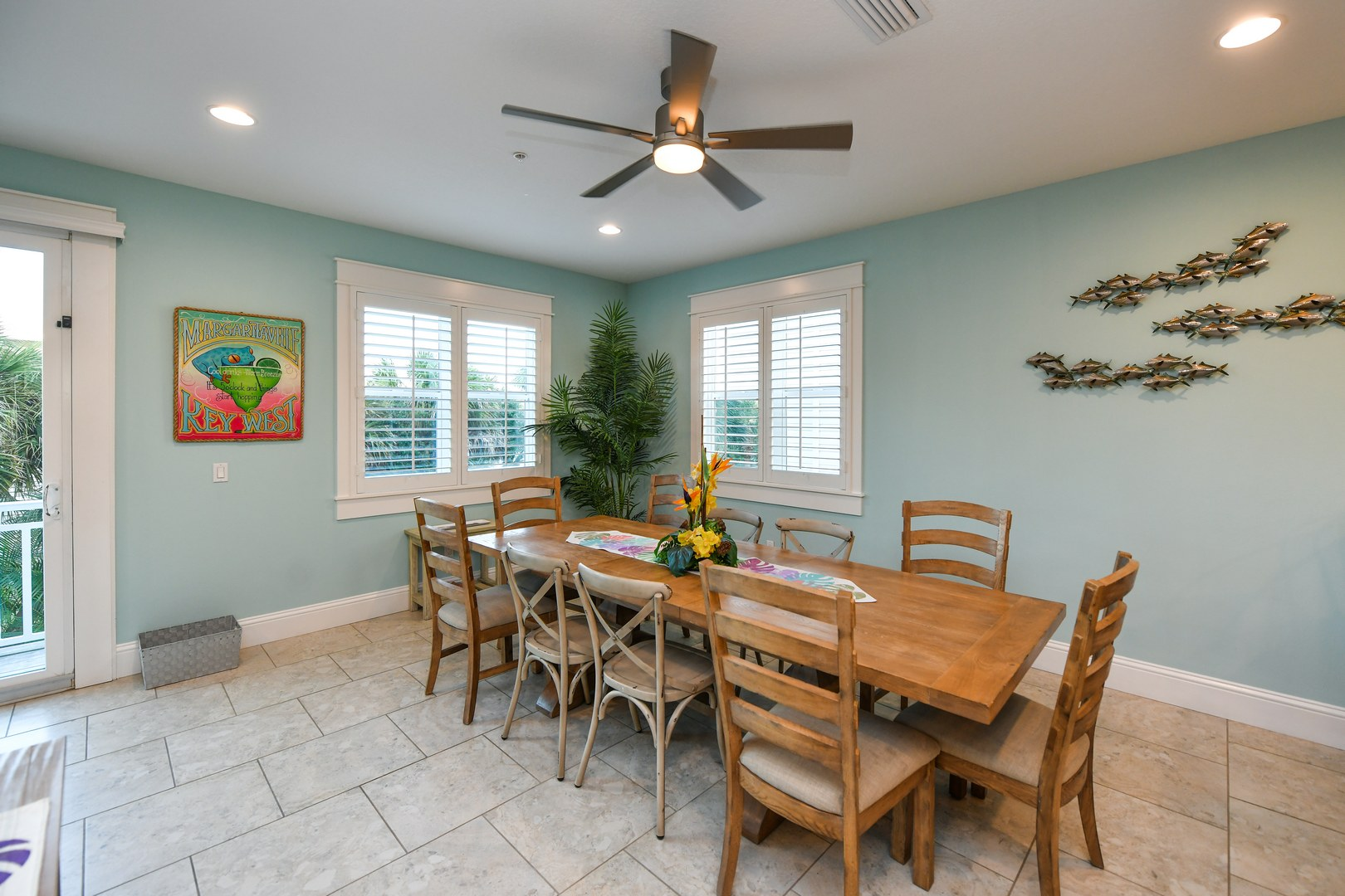 EXAMPLE - Dining Room off Kitchen and Living Areas