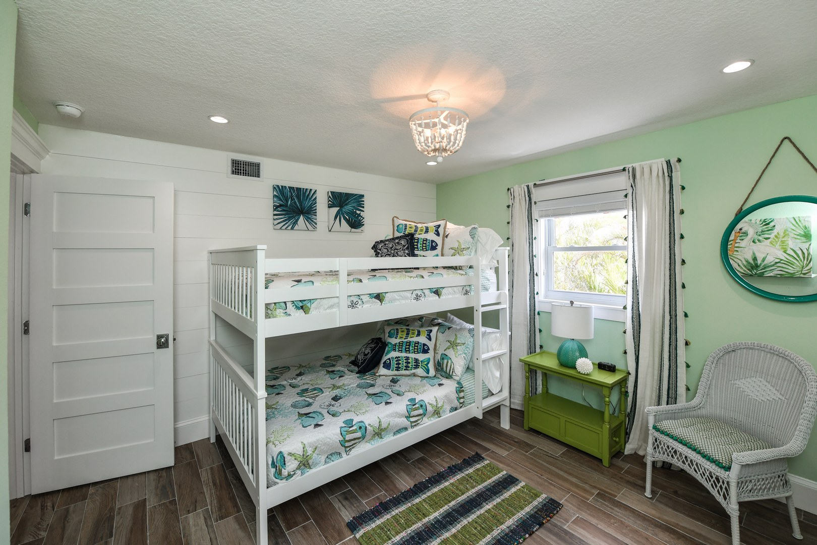 EXAMPLE - Full over Full Bunk Bed with Twin Trundle