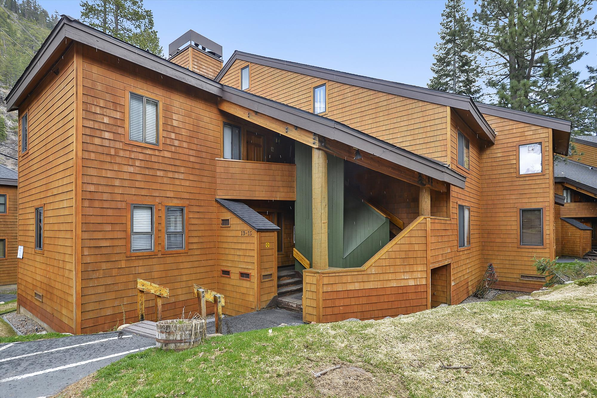 Exterior,Alpine Meadows Riverfront Condo,