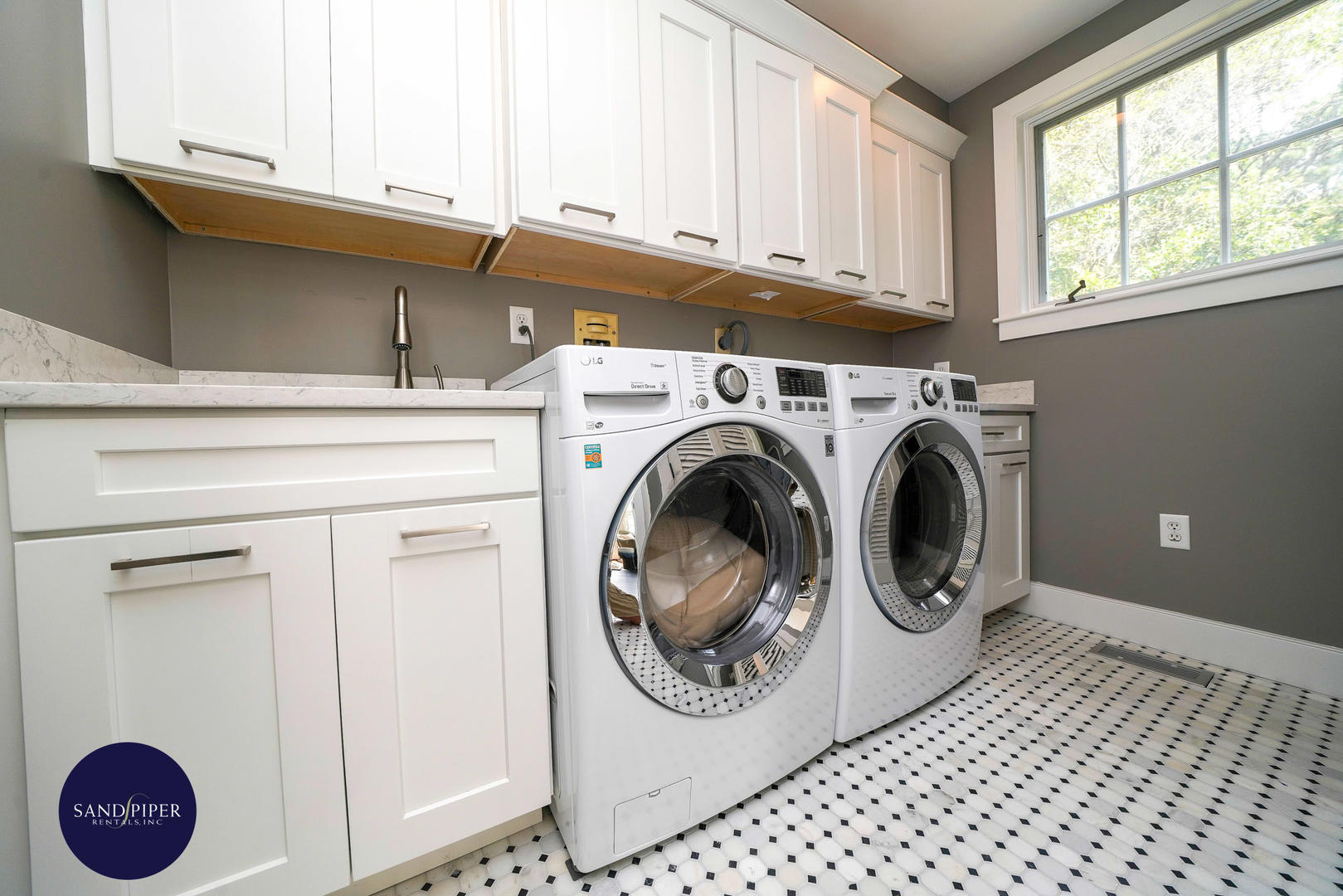 Laundry room first floor off Kitchen