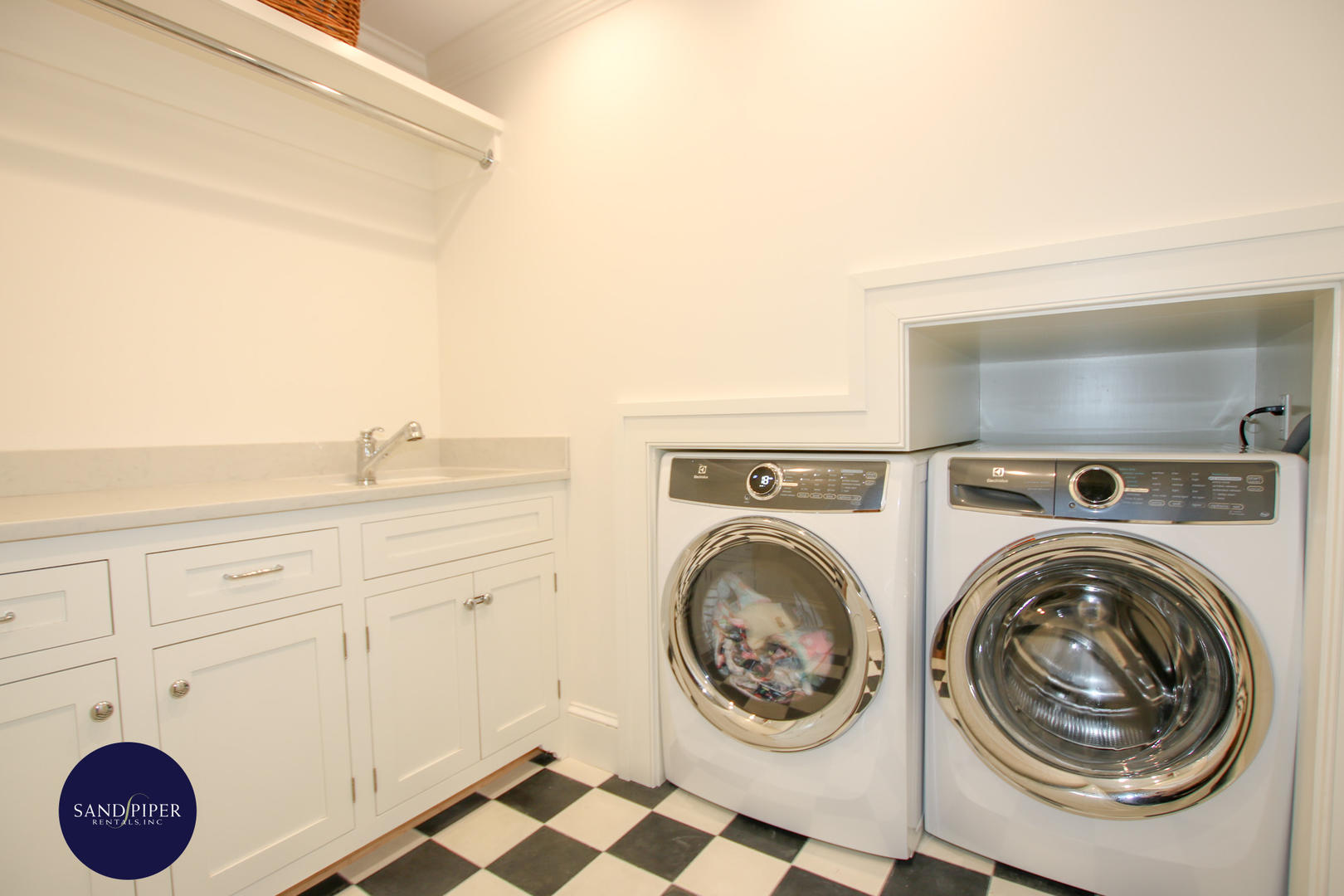 Laundry room first floor