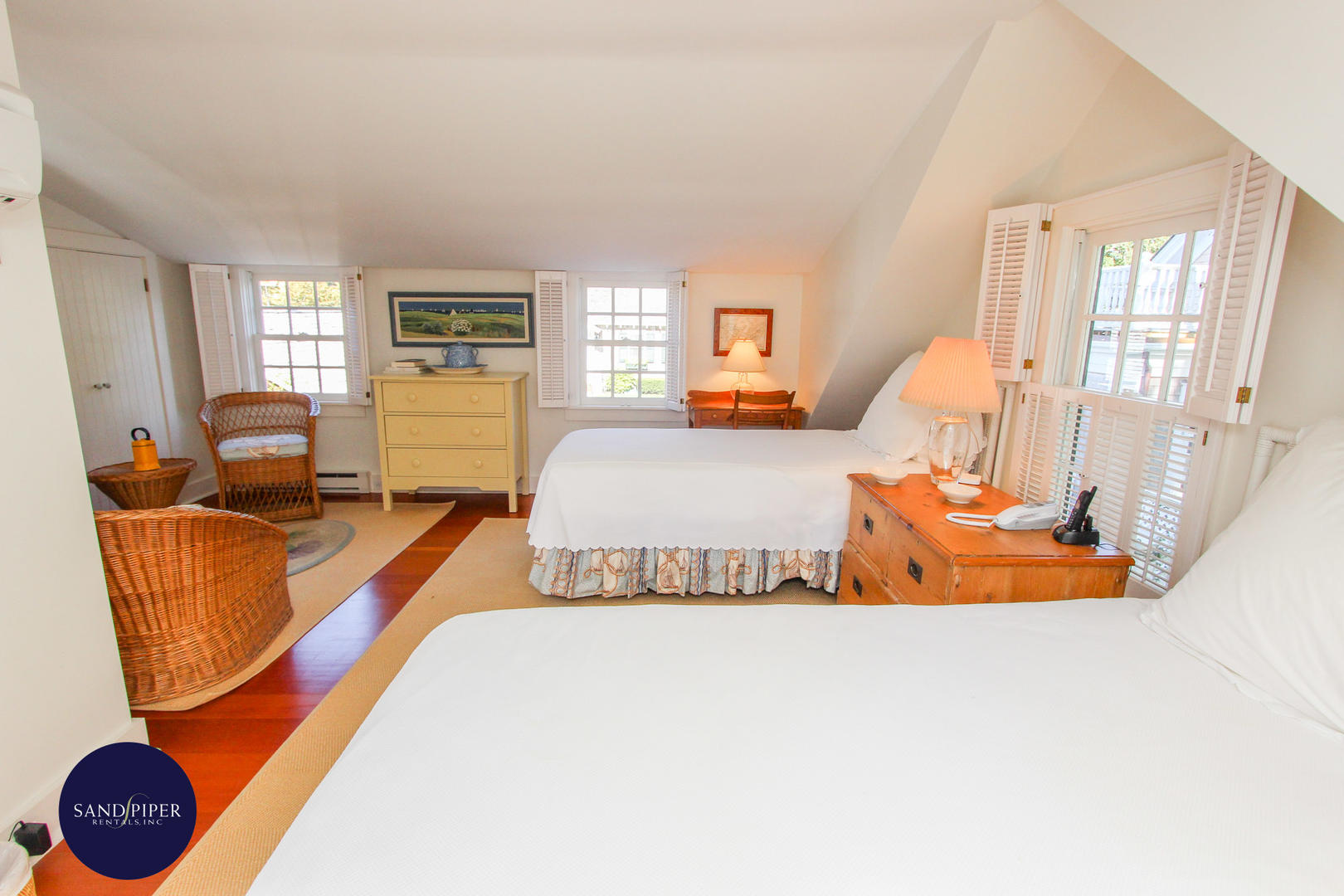Bedroom 7 in Carriage House, Pair of Twins