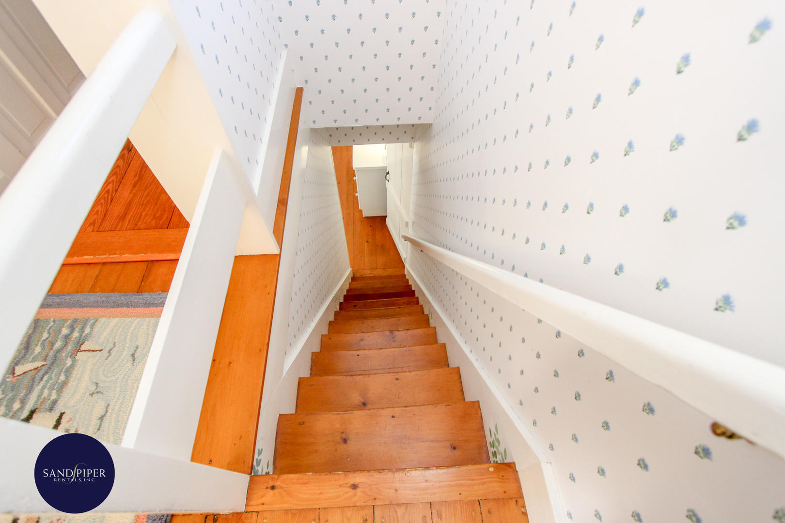 Rear Staircase off of Kitchen