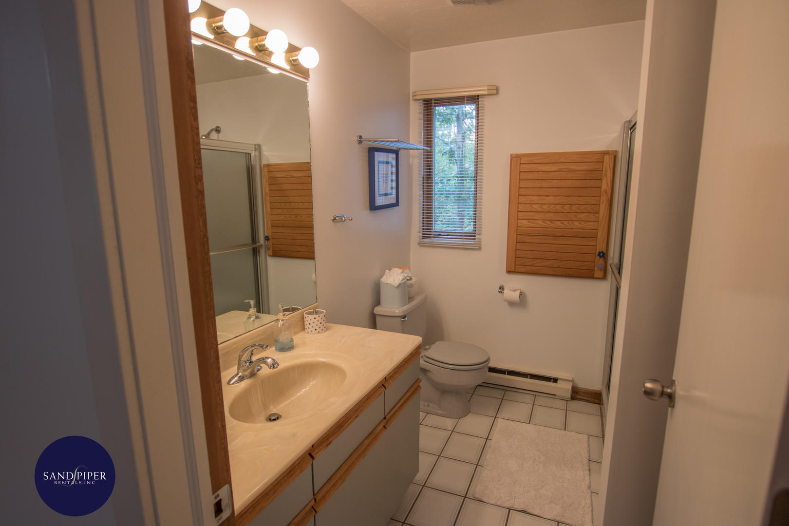 Main Level Bathroom shower