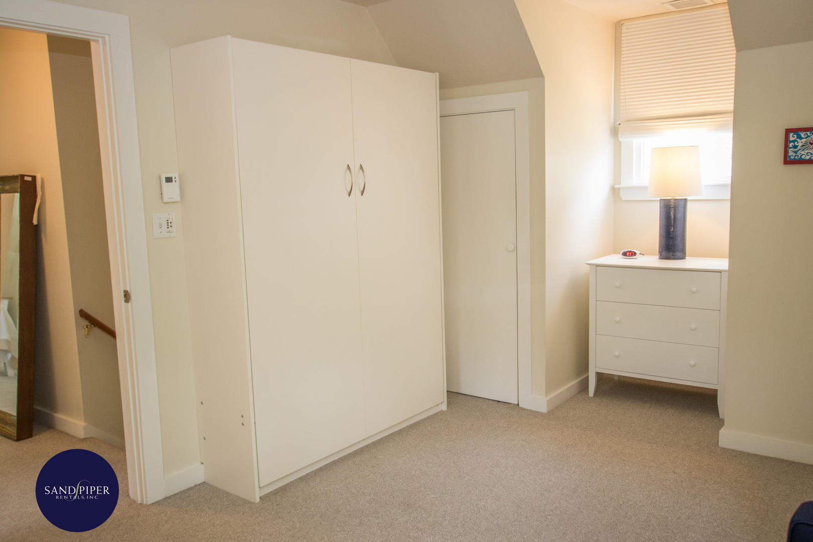 BR2 view of closed Murphy bed Double size