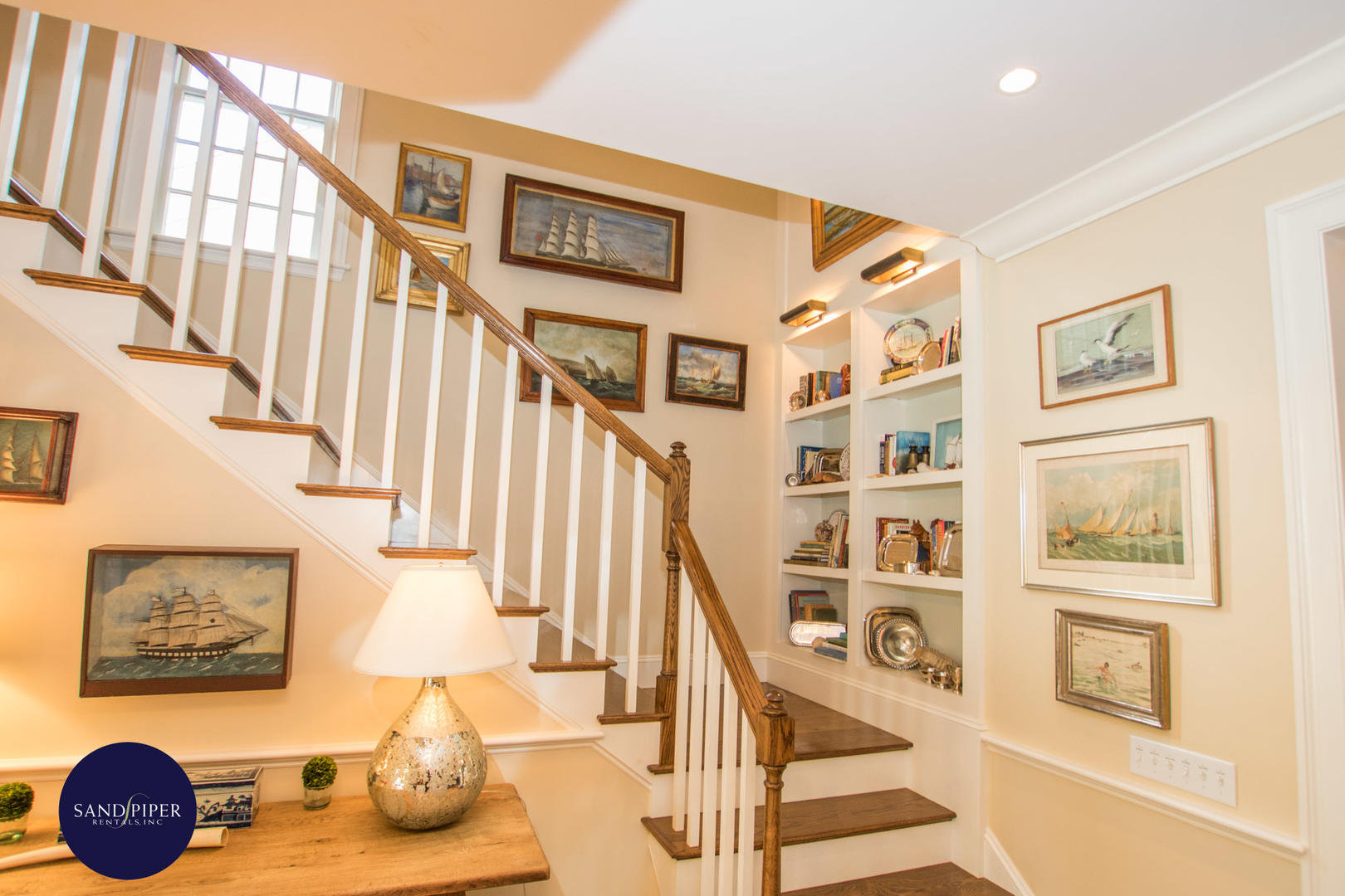 Grand Staircase to Second Floor