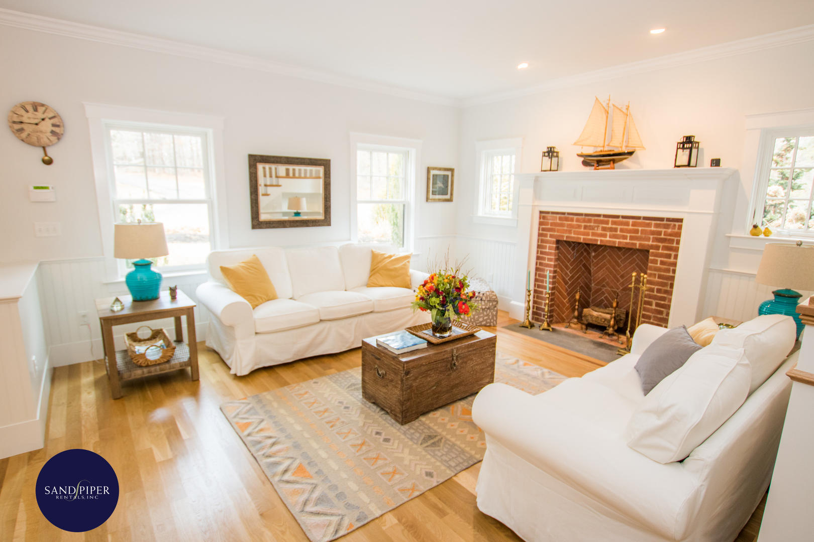 Edgartown 4 bedroom house rental downtown close to the beach in Marthas Vineyard