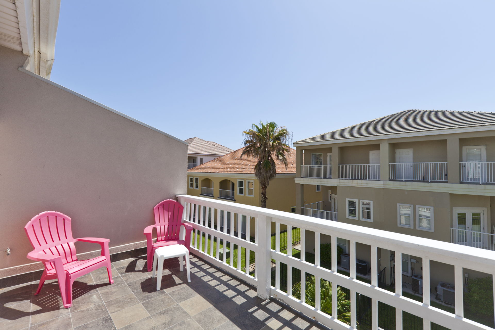 Balcony with ample space