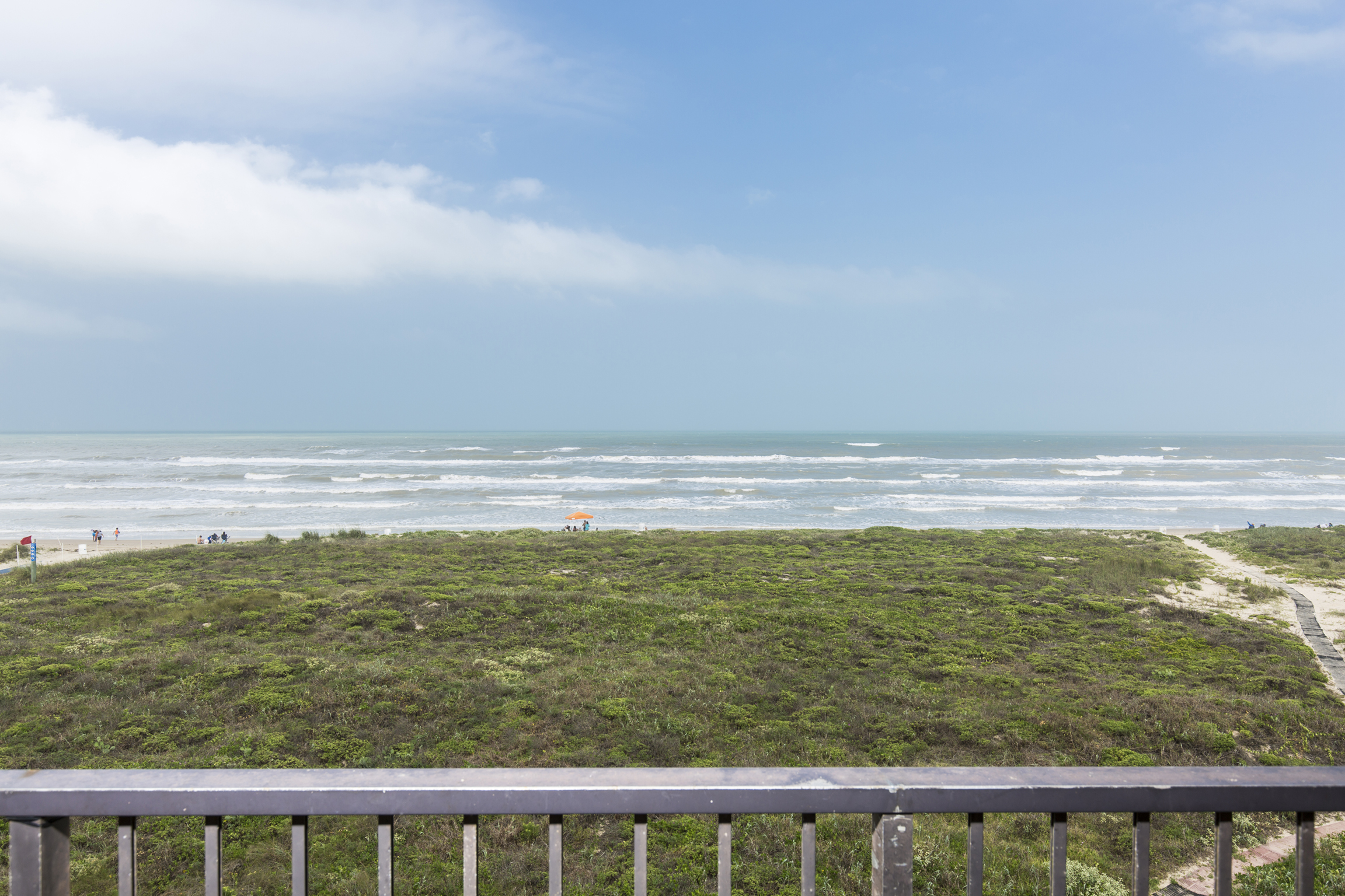 View from our balcony :)