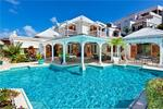 Caribbean Villa with Private Pool Amidst Tropical Garden Gibbs St Peter Key Caribe Properties