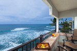 Oceanfront on the Big Island of Hawaii in this Penthouse 2 bedroom condo rental in Kailua Kona