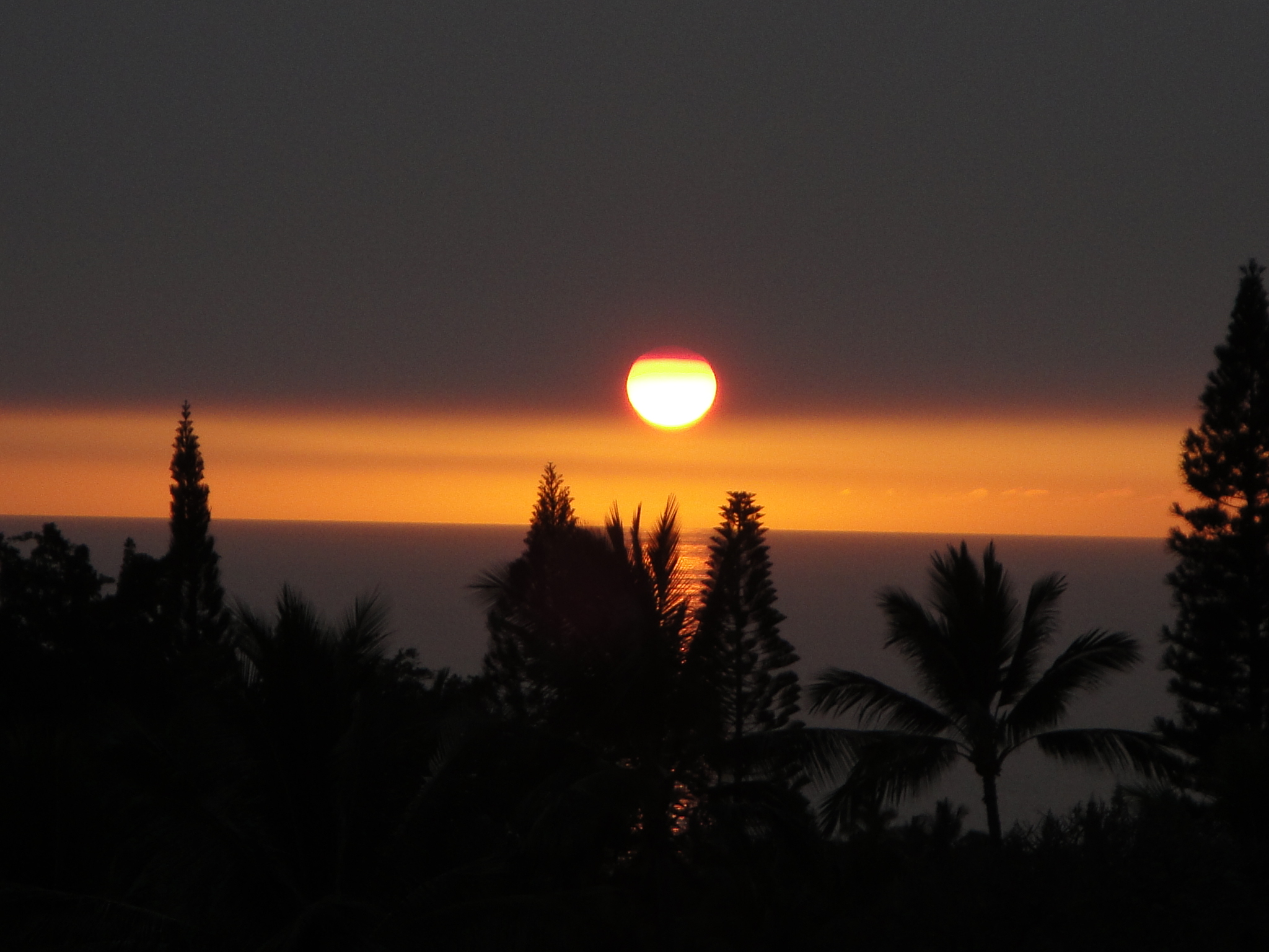 Sunset - Maybe you will see the green flash