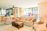 Country Club Villas 226 - Kailua Kona Hawaii - Living Room - Kona Now Hawaii Rentals