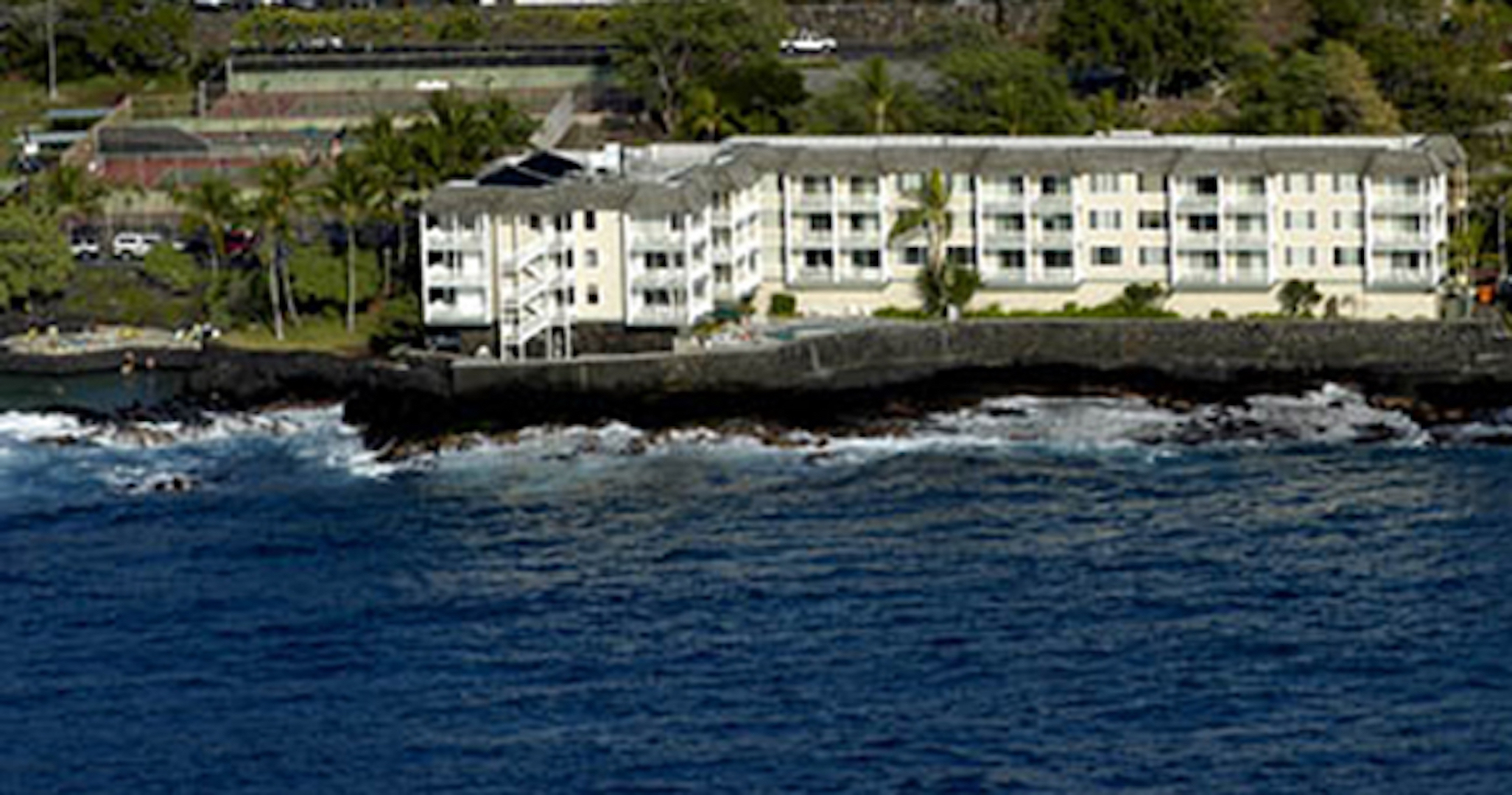 View from the sky of Hale Kona Kai