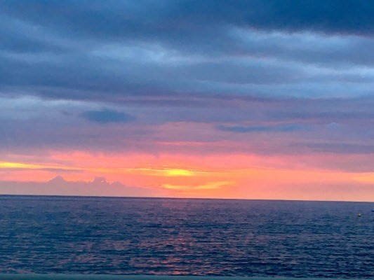 The many colors of sunset from Hale Kona Kai #206