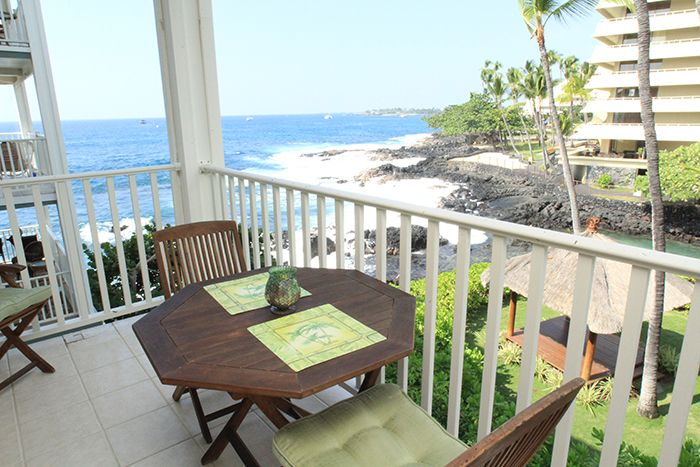 Enjoy the view from your well appointed lanai.