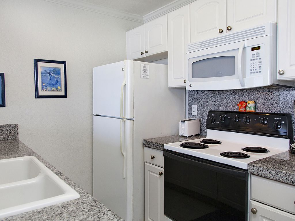 Remodeled kitchen with all the things needed for a quick snack or a full meal.