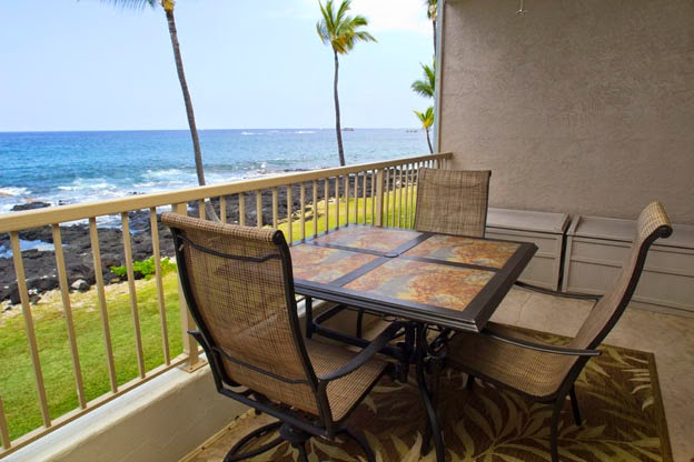 Amazing private view of the ocean from your lanai.