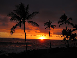 Sunset from your lanai... everyone is different!