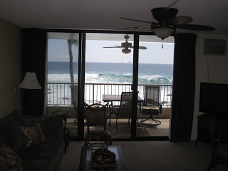 WOW check out those waves from the kitchen! This is the chef's view!
