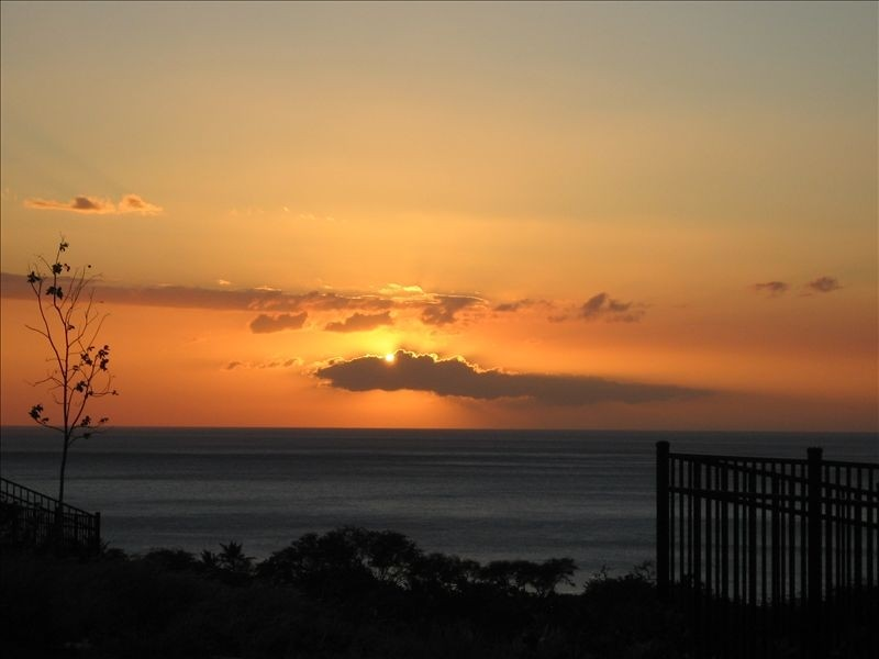 Sunset from your lanai!