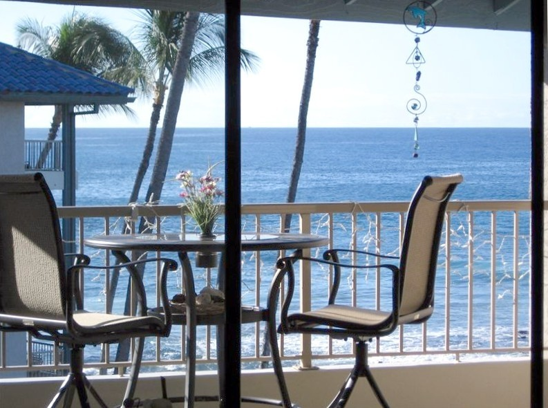 View from your lanai.