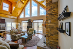 Great Room open to Mountain Views!