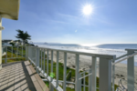 Classic Oceanfront Cayucos Home with Ocean Facing Deck and Direct Beach Access Cayucos California Beach-N-Bay Getaways