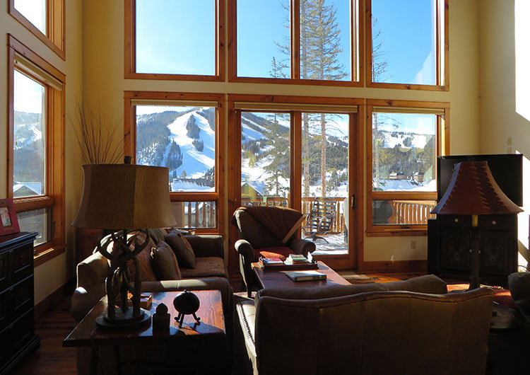 Winter Park luxury mountain view vacation home with 5 bedrooms great for groups