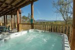 All About The View - Sevierville Tennessee - Private Hot Tub with great views - Mountain Time Cabin Rentals