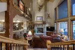 Living Area with Soaring Ceilings