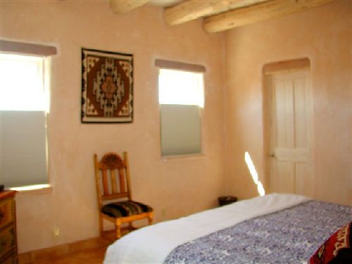casa de los huesos 3 bedroom vacation house rental taos 10744 | taos house 2nd master king bed 14