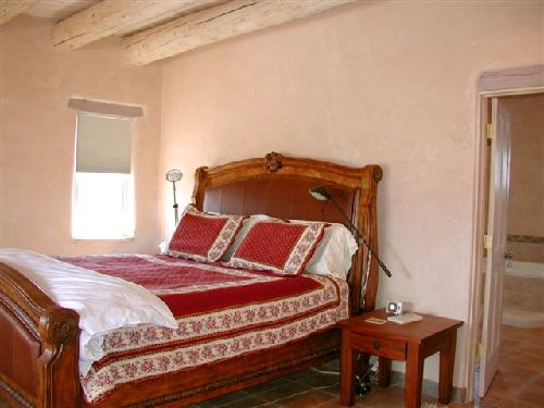 casa de los huesos 3 bedroom vacation house rental taos 10744 | taos house master king bedroom 9
