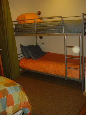 Bunkbeds in Bedroom 2