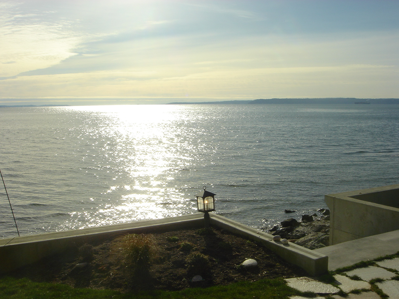 Steps to the beach,  sunrises/sunsets from this south-facing