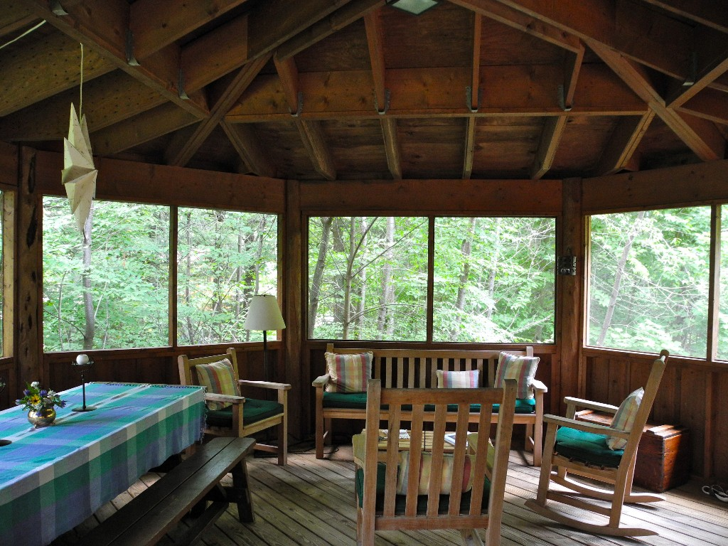 Dining and Sitting Area on the Porch.