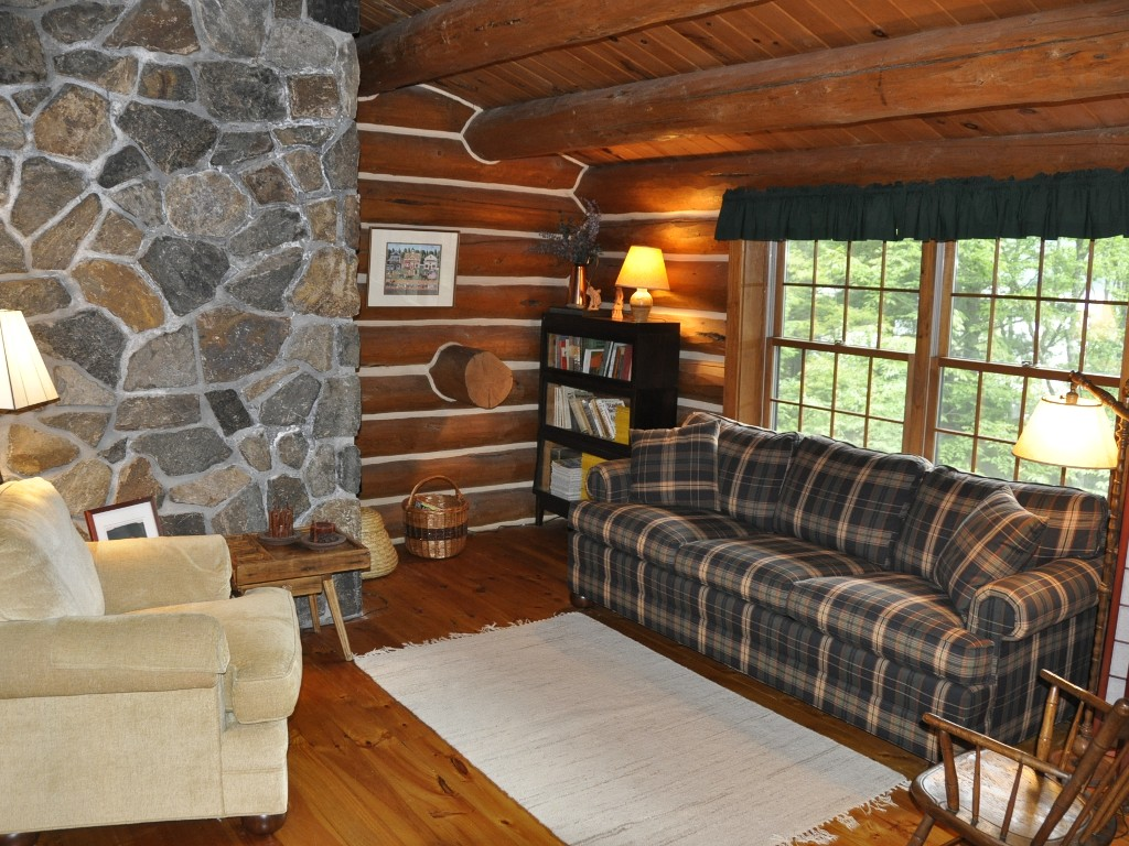 Loft Reading Area with Convertible Couch.