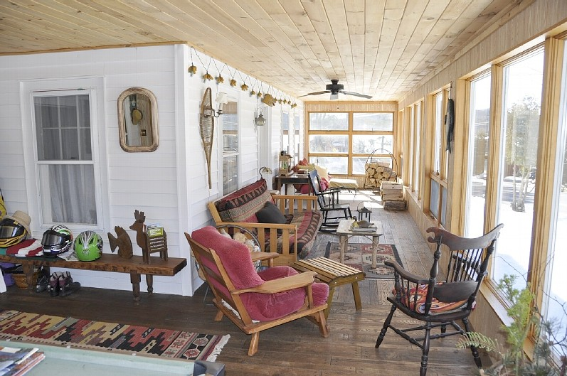 Sun-filled Enclosed Porch