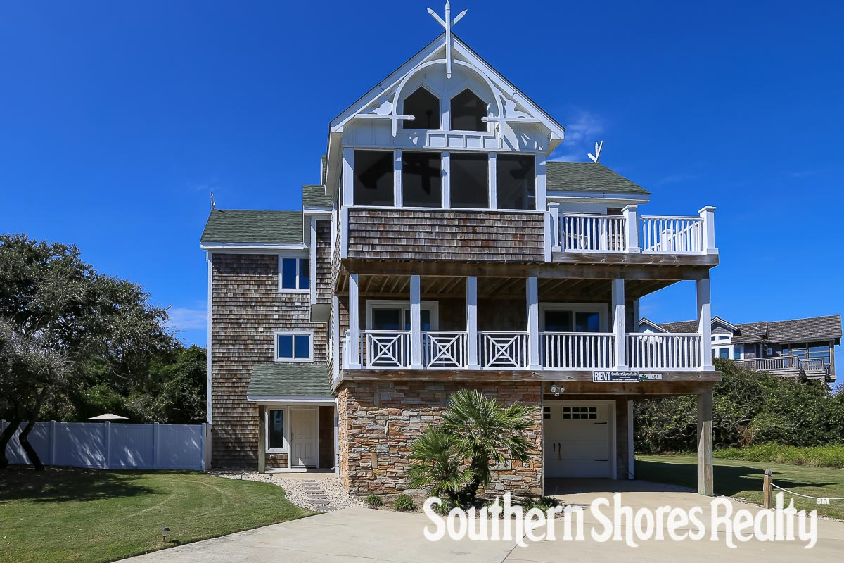 454 dawn treader 6 bedroom vacation home rental southern shores