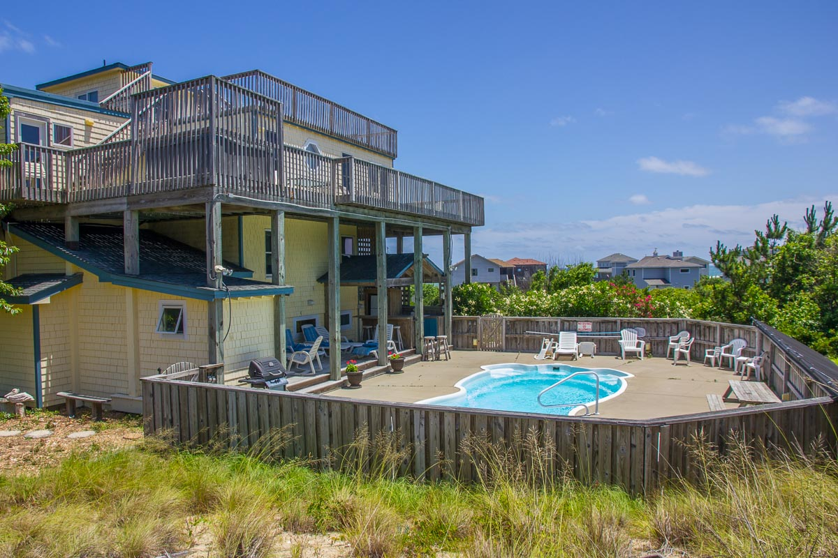 Oceanfront-Semi Outer Banks Vacation Rental