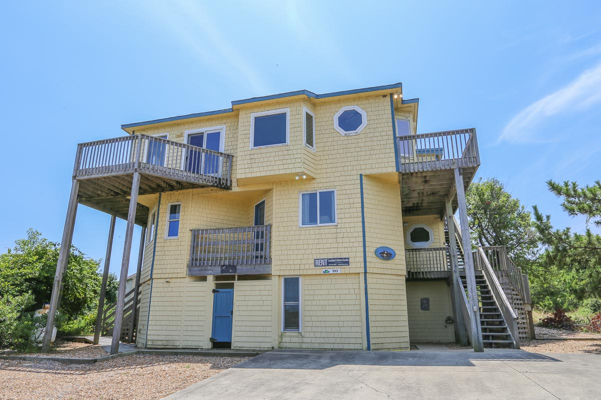 Oceanfront-Semi Outer Banks Vacation Rental 2019