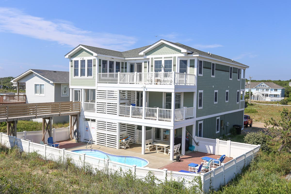 Oceanfront Outer Banks Vacation Rental 2017