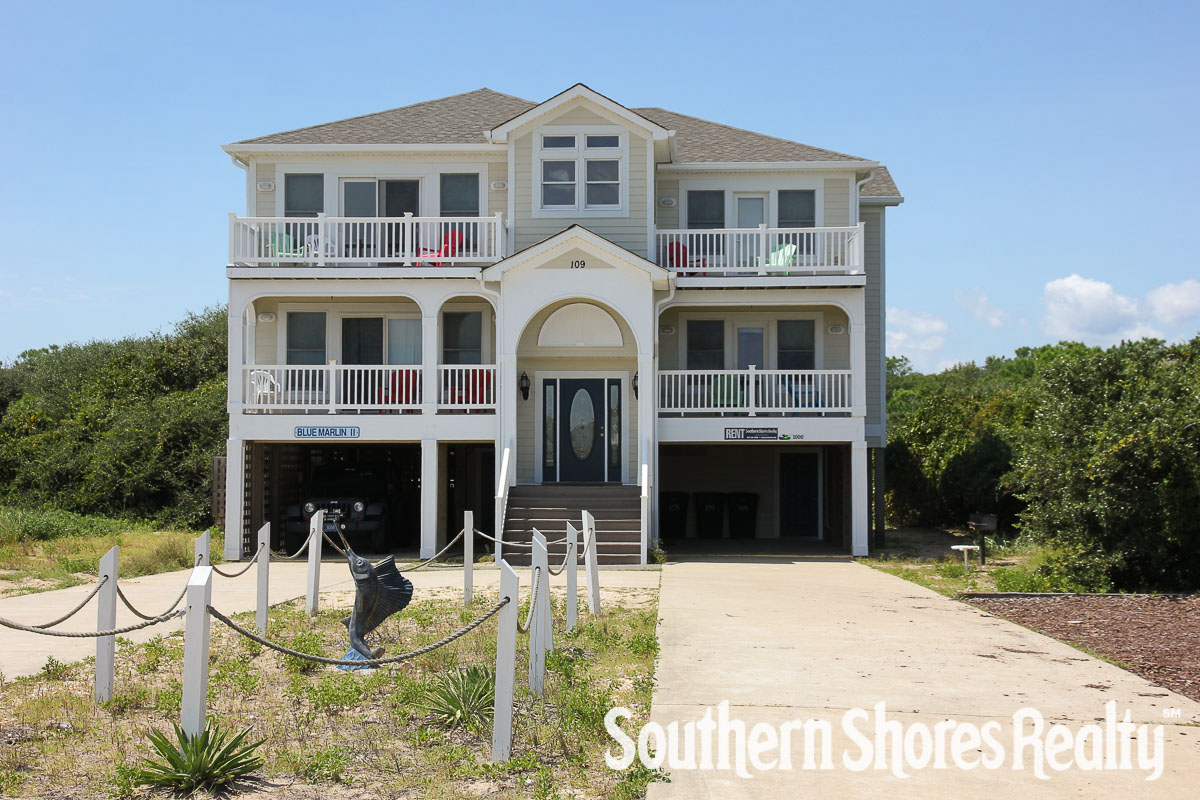 Semi-Oceanfront Outer Banks Vacation Rentals
