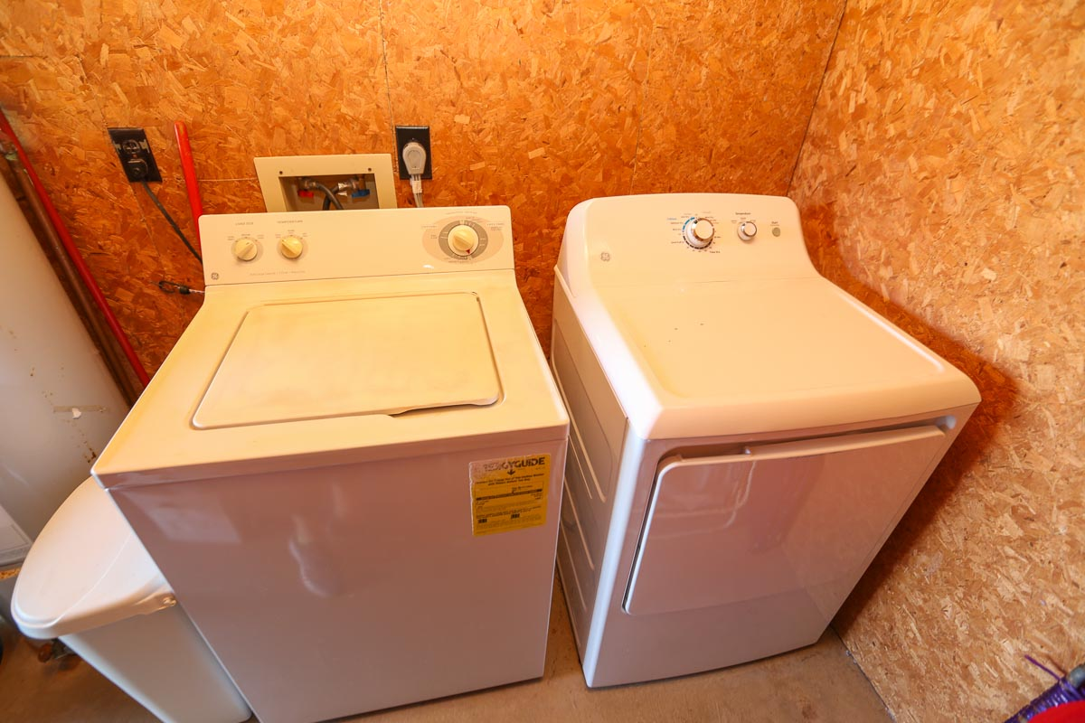 Laundry Room 2019; ground level separate from main home (Oceanside)