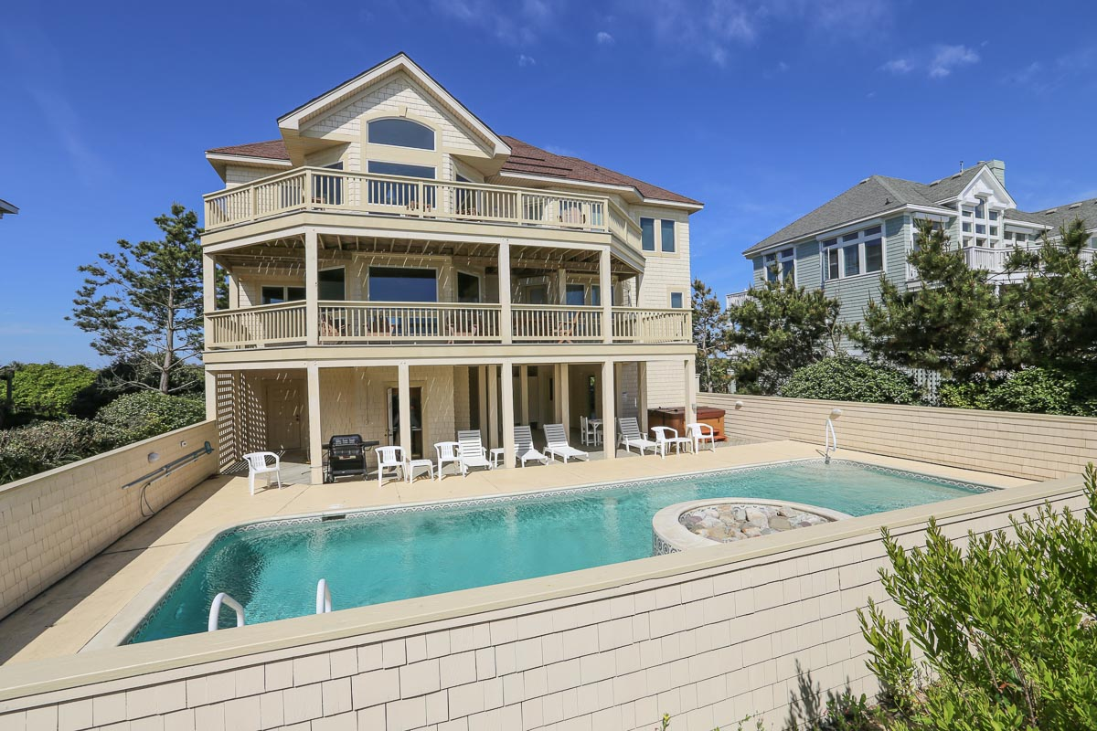 Oceanfront Outer Banks Vacation Rental 2015
