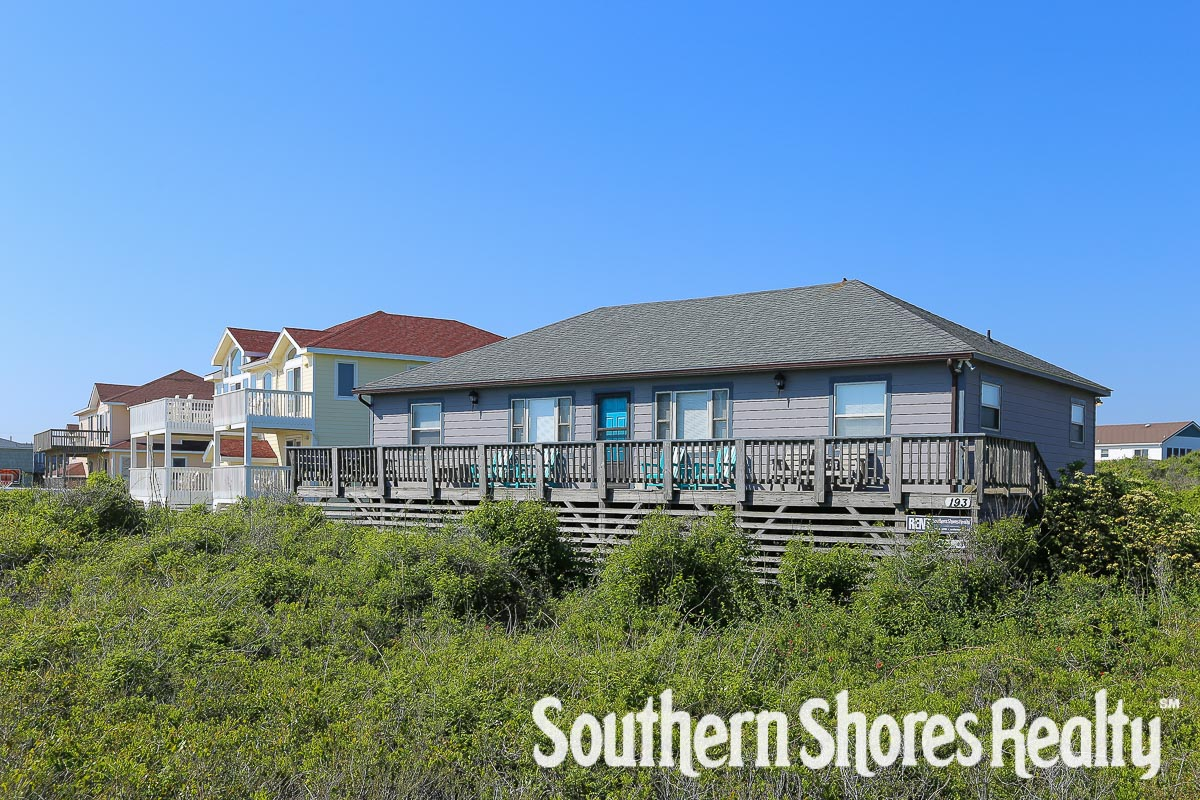 Semi-Oceanfront Outer Banks Vacation Rental