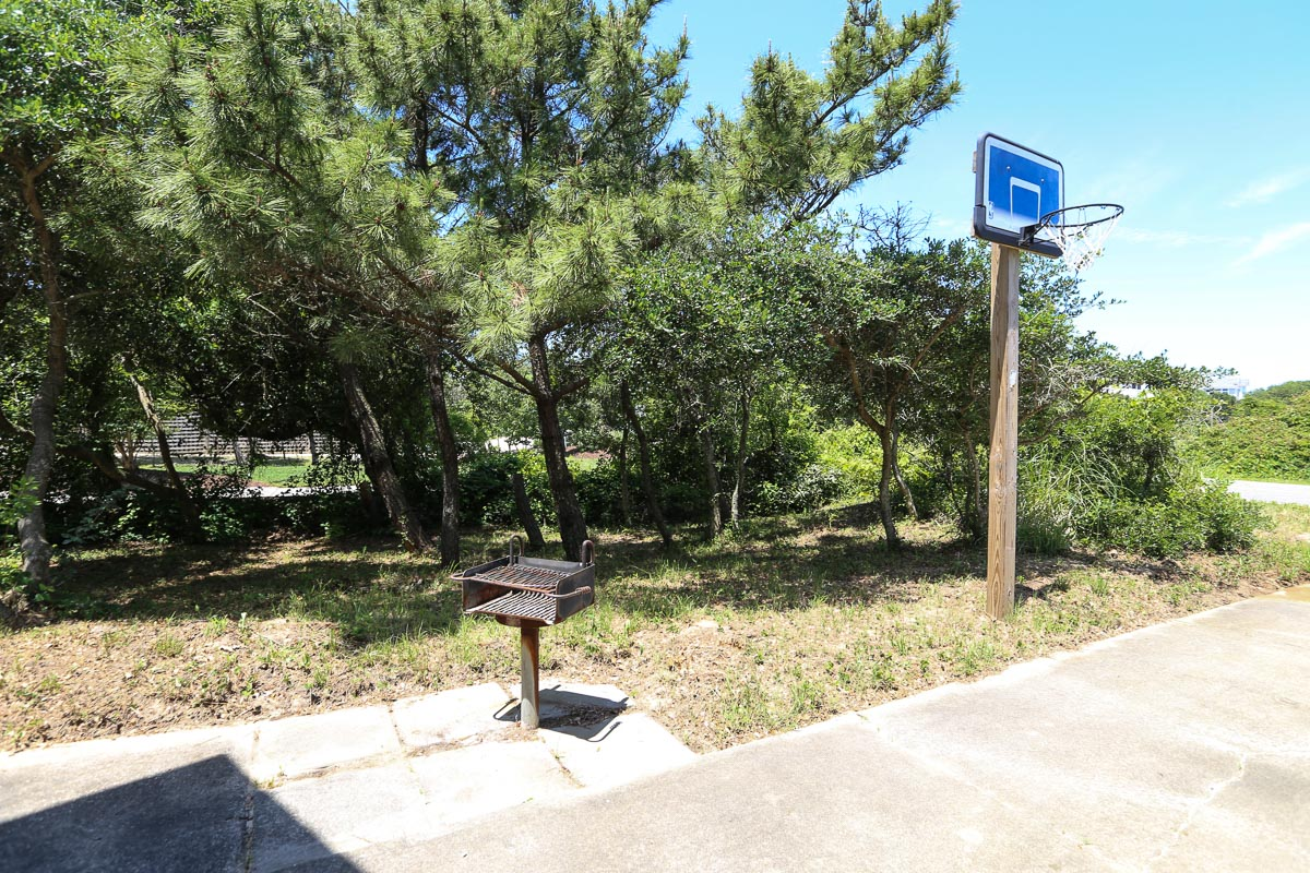 Basketball hoop and Park grill 2019