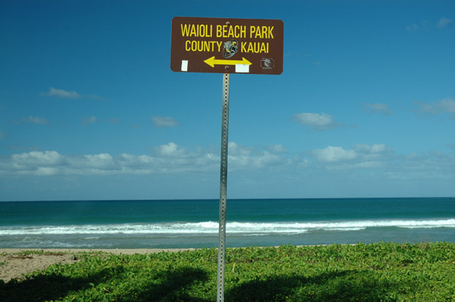 Waioli Beach park is about 1 minute away with BBQs, tables,