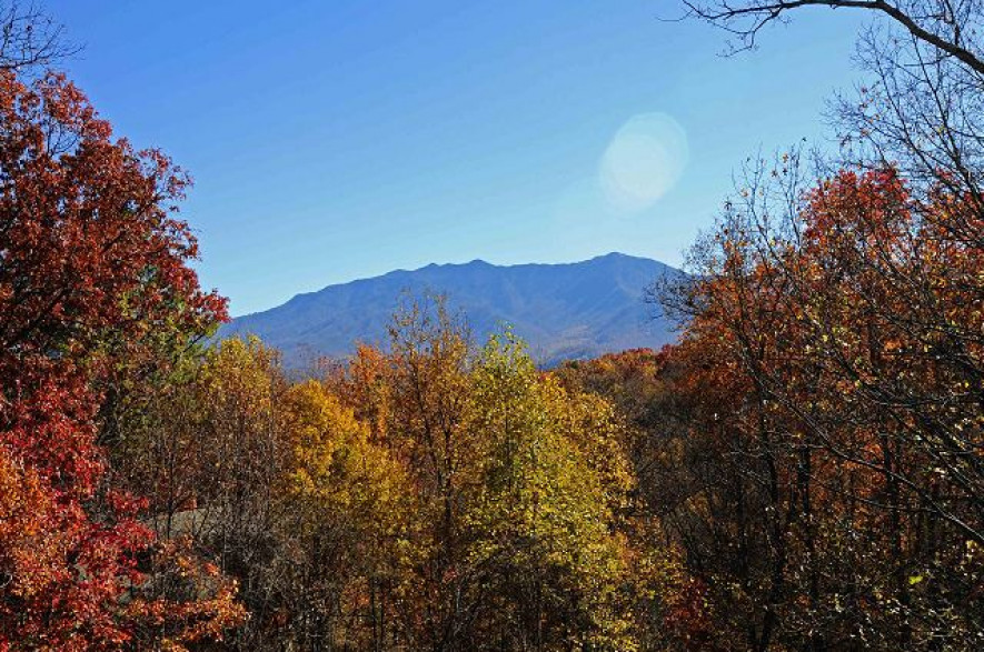 Gatlinburg mountain view home rental